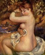 After The Bath - Pierre-Auguste Renoir