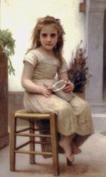 Just a Taste - William Adolphe Bouguereau