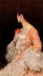 Portrait of a Lady - William Merritt Chase