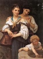 The Secret - William Adolphe Bouguereau