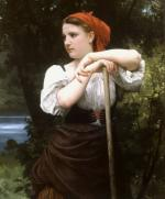 The Haymaker - William Adolphe Bouguereau