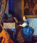 Lady Seated at a Virginal