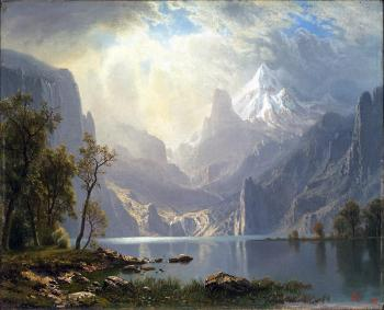 Lake-tahoe by Albert Bierstadt