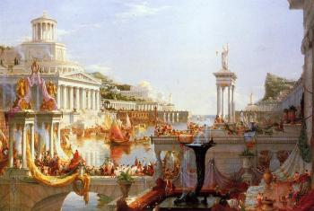 The Course of Empire (Consummation of the Empire) by Thomas Cole