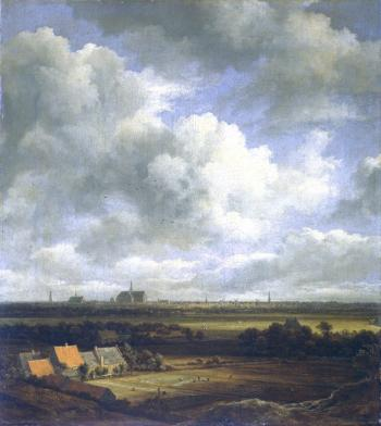 View of Haarlem by Jacob Izaaksoon van Ruisdael