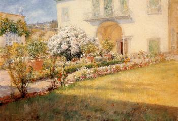 Florentine Villa by William Merritt Chase