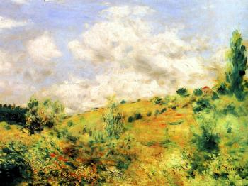 Gust of Wind by Pierre-Auguste Renoir