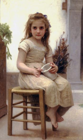 Just a Taste by William Adolphe Bouguereau