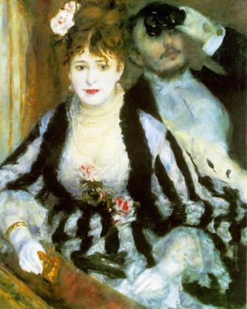La Loge (The Theater Box) by Pierre-Auguste Renoir