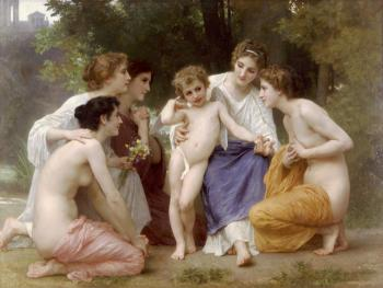 Ladmiration2 by William Adolphe Bouguereau