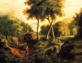 Landscape by Thomas Cole