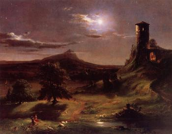 Moonlight by Thomas Cole