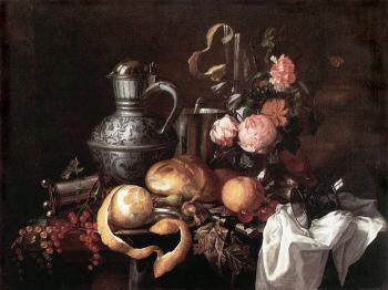 Still Life by Jan Davidsz de Heem