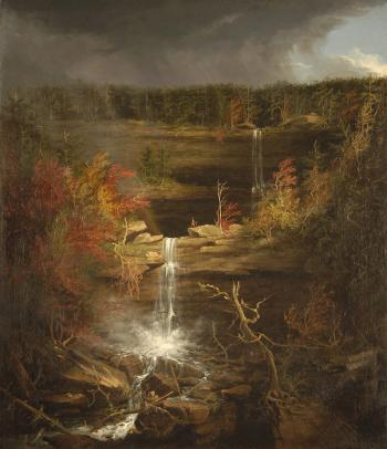 Falls of Kaaterskill by Thomas Cole