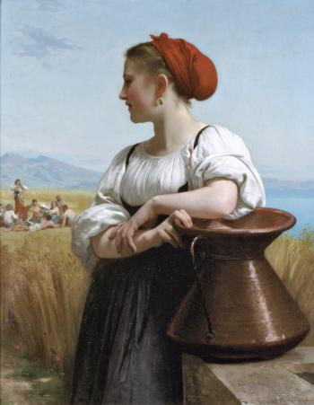 The Harvester by William Adolphe Bouguereau
