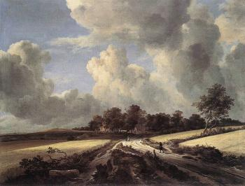 Wheat Fields by Jacob Izaaksoon van Ruisdael