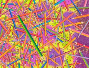 Coloured Pencils - Marck Webster