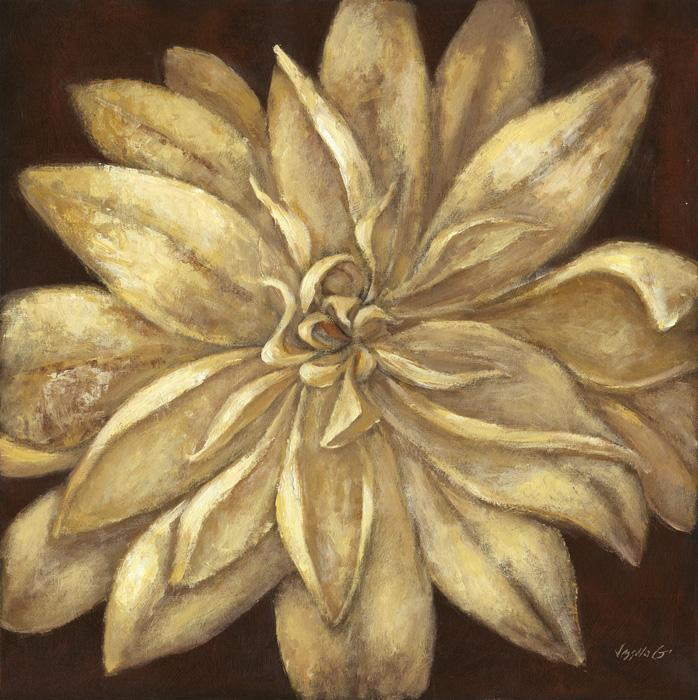 Brown Flower A.