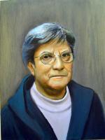 Oil Paint Portrait of Mima