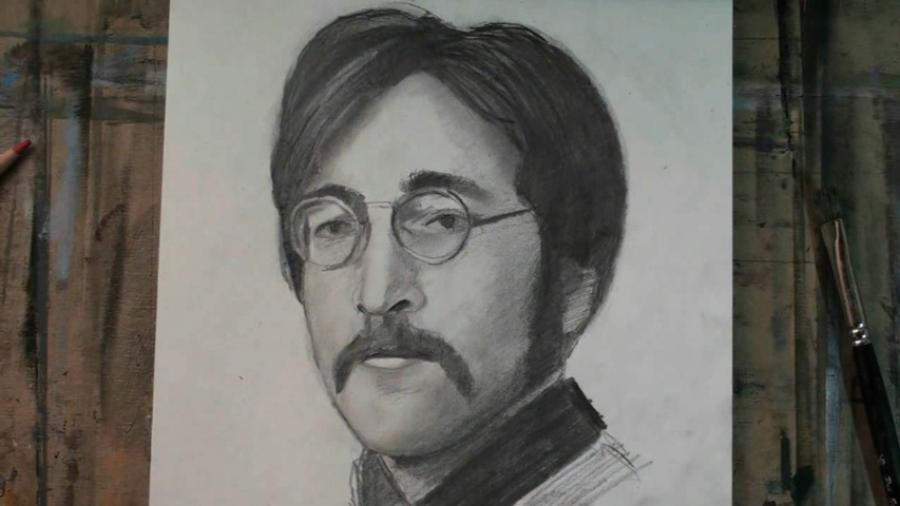 How to Draw John Lennon Step by Step. <table style=`width: 720px;` border=`1`>  <tbody>  <tr>  <td>&nbsp;<object style=`margin-right: auto; margin-left: auto; display: block;` width=`640` height=`360` data=`https://www.youtube.com/v/IUTnEOKod-g?version=3&amp;hl=en_US` type=`application/x-shockwave-flash`><param name=`allowFullScreen` value=`true` /><param name=`allowscriptaccess` value=`always` /><param name=`src` value=`https://www.youtube.com/v/IUTnEOKod-g?version=3&amp;hl=en_US` /><param name=`allowfullscreen` value=`true` /></object></td>  </tr>  <tr>  <td>  <p><span style=`font-family: Times New Roman; font-size: medium;`>&nbsp;  <script type=`text/javascript`>// <![CDATA[  google_ad_client = `pub-6730899040960500`;  /* 728x90, created 5/25/10 */  google_ad_slot = `6501615489`;  google_ad_width = 728;  google_ad_height = 90;  // ]]></script>  <script type=`text/javascript` src=`https://pagead2.googlesyndication.com/pagead/show_ads.js`>// <![CDATA[    // ]]></script>  </span></p>  </td>  </tr>  <tr>  <td>  <p><span style=`font-family: Times New Roman; font-size: medium;`>The Long and Winding Road of YouTube searches has brought you here and today, YOU are going to draw an excellent portrait of John Lennon with a little help from your friend Merrill of course. Under ideal circumstances I would want to hold your hand to directly assist you with this portrait; but since im a real Nowhere Man; your high speed internet connection and this step by step tutorial will have to do. </span><span style=`font-size: medium;`><span style=`font-family: Times New Roman;`>But rest assured,we can work it out since this video is available to you on YouTube eight days a week! </span><span style=`font-family: Times New Roman;`>All that You will need ......Is Love, a pencil and workable listening skills. Ill take care of the rest. I recommend that you pause the video at the end of each step and hit the link in the video description to go to my cheat sheet for this video. It will definitely help you. Lets get started</span></span></p>  </td>  </tr>  <tr>  <td><img src=`https://a6.sphotos.ak.fbcdn.net/hphotos-ak-ash4/s720x720/297866_2216903154964_1619167147_32131203_919980007_n.jpg` alt=`` width=`720` height=`405` /></td>  </tr>  <tr>  <td>Step 1: Draw the three shapes that you see. Notice that the three shapes resemble a childs drawing of a car.</td>  </tr>  <tr>  <td><img src=`https://a7.sphotos.ak.fbcdn.net/hphotos-ak-snc7/s720x720/293662_2216903714978_1619167147_32131204_149951242_n.jpg` alt=`` width=`720` height=`405` /></td>  </tr>  <tr>  <td>Step 2: Make the two crescent moon shapes that I just added.</td>  </tr>  <tr>  <td><img src=`https://a1.sphotos.ak.fbcdn.net/hphotos-ak-ash4/s720x720/305062_2216903914983_1619167147_32131205_833518718_n.jpg` alt=`` width=`720` height=`405` /></td>  </tr>  <tr>  <td>Step 3: Make the nose shape. Notice that the length of the nose is equal with the height of the forehead</td>  </tr>  <tr>  <td><img src=`https://a8.sphotos.ak.fbcdn.net/hphotos-ak-ash4/302551_2216932875707_1619167147_32131242_1124869328_n.jpg` alt=`` width=`717` height=`483` /></td>  </tr>  <tr>  <td>Here is a close up.</td>  </tr>  <tr>  <td><img src=`https://a5.sphotos.ak.fbcdn.net/hphotos-ak-ash4/s720x720/306344_2216904274992_1619167147_32131207_2023853761_n.jpg` alt=`` width=`720` height=`405` /></td>  </tr>  <tr>  <td>  <p>Step 4: Make the moustache and the mouth.</p>  </td>  </tr>  <tr>  <td><img src=`https://a6.sphotos.ak.fbcdn.net/hphotos-ak-ash4/s720x720/308219_2216904434996_1619167147_32131208_351897663_n.jpg` alt=`` width=`720` height=`405` /></td>  </tr>  <tr>  <td>Step 5: Add the details that I just added to the eyes. Be sure to notice their placement within the frames of the glasses.</td>  </tr>  <tr>  <td><img src=`https://a2.sphotos.ak.fbcdn.net/hphotos-ak-ash4/309310_2216933275717_1619167147_32131243_237290733_n.jpg` alt=`` width=`725` height=`489` /></td>  </tr>  <tr>  <td>Here is a close up.</td>  </tr>  <tr>  <td><img src=`https://a4.sphotos.ak.fbcdn.net/hphotos-ak-snc7/s720x720/319111_2216904635001_1619167147_32131209_171384581_n.jpg` alt=`` width=`720` height=`405` /></td>  </tr>  <tr>  <td>  <p>Step 6: Observe and add the outline of John Lennon`s face. Stop at the chin.</p>  </td>  </tr>  <tr>  <td><img src=`https://a7.sphotos.ak.fbcdn.net/hphotos-ak-ash4/s720x720/311447_2216904835006_1619167147_32131210_338487753_n.jpg` alt=`` width=`720` height=`405` /></td>  </tr>  <tr>  <td>  <p>Step 7: Add the other side of John Lennon`s face and then add the `P` shape.</p>  </td>  </tr>  <tr>  <td><img src=`https://a3.sphotos.ak.fbcdn.net/hphotos-ak-snc7/s720x720/298007_2216905155014_1619167147_32131212_1599078444_n.jpg` alt=`` width=`720` height=`405` /></td>  </tr>  <tr>  <td>  <p>Step 8: Add John`s hair. But dont stress out if it`s not perfect. Just let it be!</p>  </td>  </tr>  <tr>  <td>&nbsp;  <script type=`text/javascript`>// <![CDATA[  google_ad_client = `pub-6730899040960500`;  /* 728x90, created 5/25/10 */  google_ad_slot = `6501615489`;  google_ad_width = 728;  google_ad_height = 90;  // ]]></script>  <script type=`text/javascript` src=`https://pagead2.googlesyndication.com/pagead/show_ads.js`>// <![CDATA[    // ]]></script>  </td>  </tr>  <tr>  <td style=`text-align: center;`>&nbsp;<span style=`font-size: large;`>Supplies I Used For This Drawing</span></td>  </tr>  <tr>  <td>&nbsp;  <p>&nbsp;</p>  <form action=`https://www.jdoqocy.com/interactive` method=`get` enctype=`application/x-www-form-urlencoded`>  <table style=`width: 600px;` border=`0` cellspacing=`0` cellpadding=`5`>  <tbody>  <tr>  <td valign=`top` width=`10%`>`&gt;<img src=`https://www.dick-blick.com/items/222/06/22206-0159-2ww-m.jpg` alt=`15-Piece Drawing Set` border=`0` /></td>  <td valign=`top`>  <p><strong><span style=`font-size: medium;`>15-Piece Drawing Set</span></strong></p>  <p><span style=`font-size: x-small;`><strong>Merrill`s Opinion:</strong> Faber-Castell makes the&nbsp;best drawing pencils. These pencils&nbsp;are mixed with graphite and clay and&nbsp;enhance an artists ability to create and layer dark tones.&nbsp;You will see me use this set in almost all of my videos.&nbsp; </span></p>  <hr /><input type=`hidden` name=`pid` value=`3724826` /> <input type=`hidden` name=`aid` value=`10495307` /> <input type=`hidden` name=`cjsku` value=`22206-0159` /> <input type=`hidden` name=`url` value=`https://www.dickblick.com/products/faber-castell-9000-pencils/?wmcp=cj&amp;wmcid=feeds&amp;wmckw=22206-0159-8888` /> <input type=`submit` value=`Buy` /></td>  </tr>  </tbody>  </table>  </form>  <p><img src=`https://www.awltovhc.com/image-3724826-10495307` alt=`` width=`1` height=`1` border=`0` /></p>  <form action=`https://www.anrdoezrs.net/interactive` method=`get` enctype=`application/x-www-form-urlencoded`>  <table style=`width: 600px;` border=`0` cellspacing=`0` cellpadding=`5`>  <tbody>  <tr>  <td valign=`top` width=`10%`><img src=`https://www.dick-blick.com/items/204/43/20443-2061-1-2ww-m.jpg` alt=`Lyra Graphite Crayons` border=`0` /></td>  <td valign=`top`>  <p><strong><span style=`font-size: medium;`>Lyra Graphite Crayons</span></strong></p>  <p><span style=`font-size: x-small;`><strong>Merrill`s Opinion:</strong> Do you ever get TIRED of shading with a fine `tip` pencil? Get my `point`? This tool will save you time and money.</span></p>  <p><span style=`font-size: x-small;`>Click `MORE` to see me use this product in a video-</span></p>  <hr /><input type=`hidden` name=`pid` value=`3724826` /> <input type=`hidden` name=`aid` value=`10495307` /> <input type=`hidden` name=`cjsku` value=`20443-2091` /> <input type=`hidden` name=`sid` value=`2858963` /> <input type=`hidden` name=`url` value=`https://www.dickblick.com/products/lyra-graphite-crayons/?wmcp=cj&amp;wmcid=feeds&amp;wmckw=20443-2091` /> <input type=`submit` value=`Buy` /></td>  </tr>  </tbody>  </table>  </form>  <p><img src=`https://www.ftjcfx.com/image-3724826-10495307` alt=`` width=`1` height=`1` border=`0` /></p>  <form action=`https://www.tkqlhce.com/interactive` method=`get` enctype=`application/x-www-form-urlencoded`>  <table style=`width: 600px;` border=`0` cellspacing=`0` cellpadding=`5`>  <tbody>  <tr>  <td valign=`top` width=`10%`><img src=`https://www.dick-blick.com/items/050/80/05080-9002-2-2ww-m.jpg` alt=`Robert Simmons White Sable Brushes` border=`0` /></td>  <td valign=`top`>  <p><strong><span style=`font-size: medium;`>Robert Simmons White Sable Brushes</span></strong></p>  <p><span style=`font-size: x-small;`><strong>Merrill`s Opinion</strong>: Robert Simmons brushes get better with age. These synthetic brushes collect particles of graphite as they are rubbed on a piece of paper. This enables me to&nbsp;softly move and blend tones. Most often I use the `Flat Size 10` brush but it helps to have a variety of sizes and shapes.&nbsp;</span></p>  <hr /><input type=`hidden` name=`pid` value=`3724826` /> <input type=`hidden` name=`aid` value=`10495307` /> <input type=`hidden` name=`cjsku` value=`05824-1010` /> <input type=`hidden` name=`sid` value=`2858963` /> <input type=`hidden` name=`url` value=`https://www.dickblick.com/products/robert-simmons-white-sable-brushes/?wmcp=cj&amp;wmcid=feeds&amp;wmckw=05824-1010` /> <input type=`submit` value=`Buy` />  <p>&nbsp;</p>  </td>  </tr>  </tbody>  </table>  </form>  <p><img src=`https://www.awltovhc.com/image-3724826-10495307` alt=`` width=`1` height=`1` border=`0` /></p>  <form action=`https://www.kqzyfj.com/interactive` method=`get` enctype=`application/x-www-form-urlencoded`>  <table style=`width: 600px;` border=`0` cellspacing=`0` cellpadding=`5`>  <tbody>  <tr>  <td valign=`top` width=`10%`><img src=`https://www.dick-blick.com/items/228/66/22866-1059-2ww-m.jpg` alt=`Loew-Cornell Blending Stumps` border=`0` /></td>  <td valign=`top`>  <p><strong><span style=`font-size: medium;`>Loew-Cornell Blending Stumps</span></strong></p>  <p><span style=`font-size: x-small;`><strong>Merrill`s Opinion</strong>- INVALUBLE tools for blending! These will cost you LESS than a trip on&nbsp;the subway (Less than 2 dollars) and enhance your shading capacity substantially! I like Leow-Cornell because the&nbsp;stump is more compact and&nbsp;the tips do not wear as easily as other brands.&nbsp;I use these tools in almost every one of my videos.</span></p>  <hr /><input type=`hidden` name=`pid` value=`3724826` /> <input type=`hidden` name=`aid` value=`10495307` /> <input type=`hidden` name=`cjsku` value=`22866-4014` /> <input type=`hidden` name=`sid` value=`2858963` /> <input type=`hidden` name=`url` value=`https://www.dickblick.com/products/loew-cornell-blending-stumps/?wmcp=cj&amp;wmcid=feeds&amp;wmckw=22866-4014` /> <input type=`submit` value=`Buy` /></td>  </tr>  </tbody>  </table>  </form>  <p><img src=`https://www.awltovhc.com/image-3724826-10495307` alt=`` width=`1` height=`1` border=`0` /></p>  <form action=`https://www.tkqlhce.com/interactive` method=`get` enctype=`application/x-www-form-urlencoded`>  <table style=`width: 600px;` border=`0` cellspacing=`0` cellpadding=`5`>  <tbody>  <tr>  <td valign=`top` width=`10%`><img src=`https://www.dick-blick.com/items/102/09/10209-OC3-m.jpg` alt=`Blick White Sulphite Drawing Paper` border=`0` /></td>  <td valign=`top`>  <p><strong><span style=`font-size: medium;`>Blick White Sulphite Drawing Paper</span></strong></p>  <p><span style=`font-size: x-small;`><strong>Merrill`s Opinion</strong>: Really, I DARE YOU, try to find a better value than this one! 500 sheets of 80LB (thick) drawing paper for $11.50. AMAZING DEAL!......If you use computer paper to create your drawings, you are ROBBING yourself from seeing what you can really do! This paper has more `tooth` (texture on the surface) than computer paper and your ability to shade will be enhanced. </span></p>  <hr /><input type=`hidden` name=`pid` value=`3724826` /> <input type=`hidden` name=`aid` value=`10495307` /> <input type=`hidden` name=`cjsku` value=`10209-1033` /> <input type=`hidden` name=`sid` value=`2858963` /> <input type=`hidden` name=`url` value=`https://www.dickblick.com/products/blick-white-sulphite-drawing-paper/?wmcp=cj&amp;wmcid=feeds&amp;wmckw=10209-1033` /> <input type=`submit` value=`Buy` /></td>  </tr>  </tbody>  </table>  </form>  <p><img src=`https://www.ftjcfx.com/image-3724826-10495307` alt=`` width=`1` height=`1` border=`0` /></p>  <form action=`https://www.dpbolvw.net/interactive` method=`get` target=`_top`>  <table style=`width: 600px;` border=`0` cellspacing=`0` cellpadding=`5`>  <tbody>  <tr>  <td valign=`top` width=`10%`><img src=`https://www.dick-blick.com/items/200/72/20072-1000-2ww-m.jpg` alt=`Coates Premium Artist`s Willow Charcoal` border=`0` /></td>  <td valign=`top`>  <p><strong><span style=`font-size: medium;`>Coates Premium Artist`s Willow Charcoal</span></strong></p>  <p><span style=`font-size: x-small;`>Merrill`s Opinion- I use this to block in large areas such as hair. This product can be combined with drawing pencils.</span></p>  <hr /><input type=`hidden` name=`pid` value=`3724826` /> <input type=`hidden` name=`aid` value=`10495307` /> <input type=`hidden` name=`cjsku` value=`20072-1000` /> <input type=`hidden` name=`url` value=`https://www.dickblick.com/products/coates-premium-artists-willow-charcoal/?wmcp=cj&amp;wmcid=feeds&amp;wmckw=20072-1000` /> <input type=`submit` value=`Buy` /></td>  </tr>  </tbody>  </table>  </form><img src=`https://www.tqlkg.com/image-3724826-10495307` alt=`` width=`1` height=`1` border=`0` /><form action=`https://www.dpbolvw.net/interactive` method=`get` target=`_top`>  <table style=`width: 600px;` border=`0` cellspacing=`0` cellpadding=`5`>  <tbody>  <tr>  <td valign=`top` width=`10%`><img src=`https://www.dick-blick.com/items/229/21/22921-1001-2ww-m.jpg` alt=`General`s White Charcoal` border=`0` /></td>  <td valign=`top`>  <p><strong><span style=`font-size: medium;`>General`s White Charcoal</span></strong></p>  <p><span style=`font-size: x-small;`>Merrill`s Opinion- I use this to add highlights at the end of a drawing. It mixes with both pencil and charcoal. Each stick measures 3` &times; &frac14;` &times; &frac14;` (76 mm &times; 6 mm &times; 6 mm).</span></p>  <hr /><input type=`hidden` name=`pid` value=`3724826` /> <input type=`hidden` name=`aid` value=`10495307` /> <input type=`hidden` name=`cjsku` value=`22921-1001` /> <input type=`hidden` name=`url` value=`https://www.dickblick.com/products/generals-white-charcoal/?wmcp=cj&amp;wmcid=feeds&amp;wmckw=22921-1001` /> <input type=`submit` value=`Buy` /></td>  </tr>  </tbody>  </table>  </form><img src=`https://www.lduhtrp.net/image-3724826-10495307` alt=`` width=`1` height=`1` border=`0` /></td>  </tr>  <tr>  <td>&nbsp;</td>  </tr>  <tr>  <td>&nbsp;</td>  </tr>  <tr>  <td>&nbsp;</td>  </tr>  <tr>  <td>&nbsp;</td>  </tr>  </tbody>  </table>