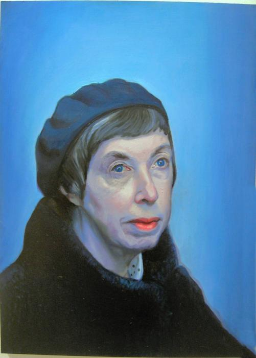 Oil Paint Portrait of Artists Mother. <p>Oil painting from 2003-04. Possibly my best work.</p>  <p>  <script type=`text/javascript`><!--  google_ad_client = `pub-6730899040960500`;    /* 468x60, created 1/26/10 */    google_ad_slot = `2338749477`;    google_ad_width = 468;    google_ad_height = 60;  // --></script>  <script src=`http://pagead2.googlesyndication.com/pagead/show_ads.js` type=`text/javascript`></script>  <script type=`text/javascript`><!--  google_ad_client = `pub-6730899040960500`;    /* 336x280, created 2/2/10 */    google_ad_slot = `4181428218`;    google_ad_width = 336;    google_ad_height = 280;  // --></script>  <script src=`http://pagead2.googlesyndication.com/pagead/show_ads.js` type=`text/javascript`></script>  </p>