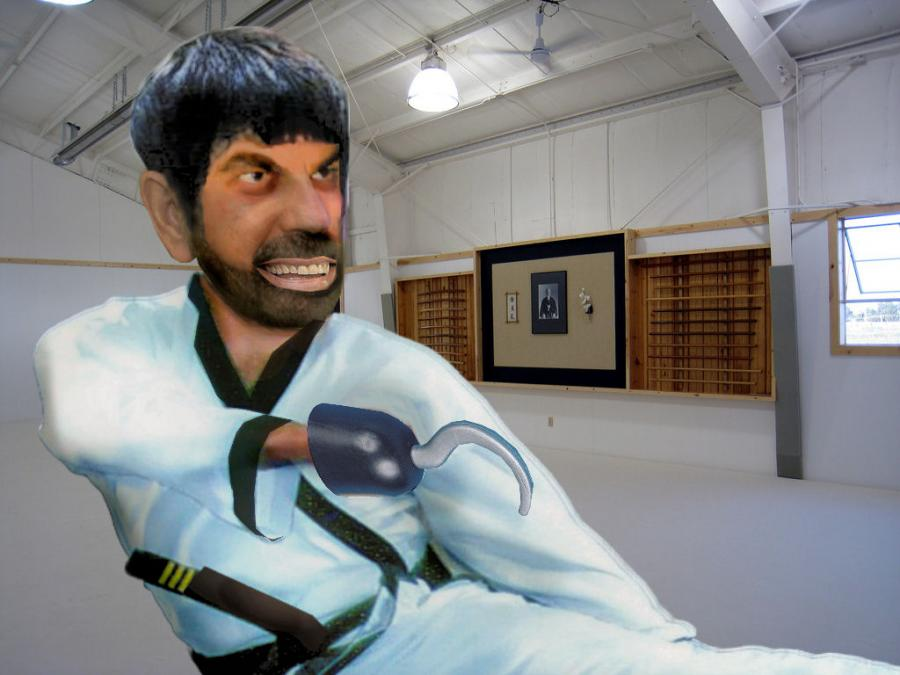 ARTMORPH (Martial Arts)- Lee + Seagal + Van Dam + Norris. <p>  <script type=`text/javascript`><!--  google_ad_client = `pub-6730899040960500`;    /* 728x15, created 2/3/10 */    google_ad_slot = `1049141337`;    google_ad_width = 728;    google_ad_height = 15;  // --></script>  <script src=`http://pagead2.googlesyndication.com/pagead/show_ads.js` type=`text/javascript`></script>  </p>  <p>What do you get when you `Photoshop` Bruce Lee, Steven Seagal, Jean Claude Van Damme and Chuck Norris? - There would be lots of spin kicking, artificial testosterone, bad hair pieces,ex wives and Martial Arts trophies. This superhuman would be able to enter any dragon or Kumate; and would be very `Hard to Kill`, so dont mess with them, or else you will end up in a `deeper plot` than a bad 1980`s movie. I used Photoshop CS3 and Paint Shop Pro 9 to merge the faces of these movie superheroes. I depended heavily on the digital scissor/ quick selection and magic wand tools as well as the smudge brush and the lighten and darken tool.</p>  <p>Photoshop is the Gold Standard for Photomanipulation Art</p>  <p>  <object width=`425` height=`344` data=`http://www.youtube.com/v/lrD-riUSOvc&amp;hl=en_US&amp;fs=1&amp;` type=`application/x-shockwave-flash`>  <param name=`allowFullScreen` value=`true` />  <param name=`allowscriptaccess` value=`always` />  <param name=`src` value=`http://www.youtube.com/v/lrD-riUSOvc&amp;hl=en_US&amp;fs=1&amp;` />  <param name=`allowfullscreen` value=`true` />  </object>  </p>  <p><a href=`http://www.tkqlhce.com/click-3724826-10717947` target=`_top`><img src=`http://www.ftjcfx.com/image-3724826-10717947` border=`0` alt=`www.DickBlick.com - Online Art Supplies` width=`468` height=`60` /></a></p>  <form action=`http://www.tkqlhce.com/interactive` enctype=`application/x-www-form-urlencoded` method=`get`>  <table style=`width: 600px;` border=`0` cellspacing=`0` cellpadding=`5`>  <tbody>  <tr>  <td width=`10%` valign=`top`><img src=`http://drh.img.digitalriver.com/DRHM/Storefront/Company/adbevlus/images/product/detail/CS4/box_photoshop_cs4_150x150.jpg` border=`0` alt=`Photoshop CS4 - License` /></td>  <td valign=`top`>  <p><strong><span style=`font-size: medium;`>Photoshop CS4 - License</span></strong></p>  <p><span style=`font-size: x-small;`>Create powerful images with the professional standard.</span></p>  <hr />  <input name=`pid` type=`hidden` value=`3724826` /> <input name=`aid` type=`hidden` value=`10674112` /> <input name=`cjsku` type=`hidden` value=`Photoshop CS4 - License` /> <input name=`url` type=`hidden` value=`http://store.digitalriver.com/servlet/ControllerServlet?Action=DisplayProductDetailsPage&amp;Locale=en_US&amp;SiteID=adbevlus&amp;productID=108142600` /> <input type=`submit` value=`Buy` /></td>  </tr>  </tbody>  </table>  </form>  <p><img src=`http://www.lduhtrp.net/image-3724826-10674112` border=`0` alt=`` width=`1` height=`1` /></p>  <p>  <script type=`text/javascript`><!--  google_ad_client = `pub-6730899040960500`;        /* 468x60, created 1/26/10 */        google_ad_slot = `2338749477`;        google_ad_width = 468;        google_ad_height = 60;  // --></script>  <script src=`http://pagead2.googlesyndication.com/pagead/show_ads.js` type=`text/javascript`></script>  <script type=`text/javascript`><!--  google_ad_client = `pub-6730899040960500`;        /* 336x280, created 2/2/10 */        google_ad_slot = `4181428218`;        google_ad_width = 336;        google_ad_height = 280;  // --></script>  <script src=`http://pagead2.googlesyndication.com/pagead/show_ads.js` type=`text/javascript`></script>  </p>
