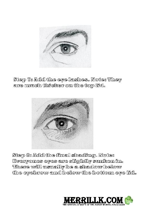 Eye Worksheet 3.