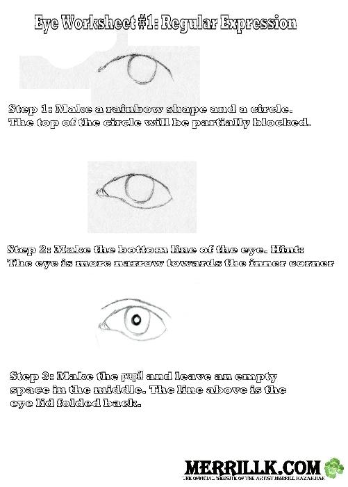 Eye Worksheet 1.