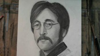 How to Draw John Lennon Step by Step - Merrill Kazanjian