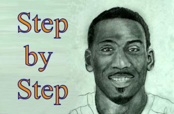 How to Draw Amare Stoudemire Step by Step - Merrill Kazanjian