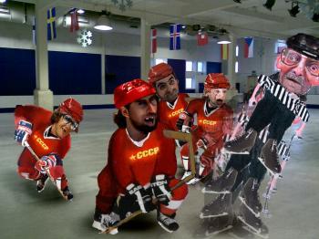 National Hockey League ARTMORPH - Merrill Kazanjian