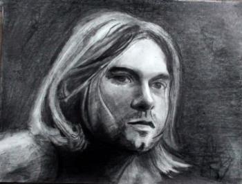 How to Draw Kurt Cobain Step by Step - Merrill Kazanjian