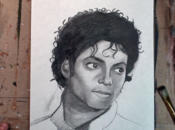How to Draw Michael Jackson Step by Step - Merrill Kazanjian