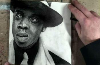 How to Draw Jay-Z Step by Step by Merrill Kazanjian