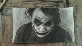 How to Draw Heath Ledger as the Joker: Batman Dark Knight - Merrill Kazanjian