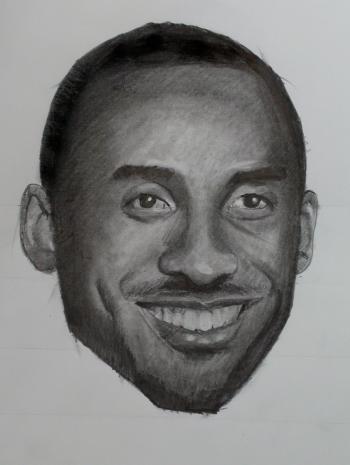 How to Draw Kobe Bryant Step by Step (Video and Print Resource Page) - Merrill Kazanjian
