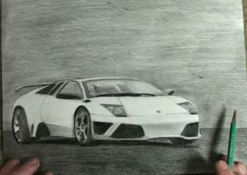 How to Draw a Lamborghini Step by Step - Merrill Kazanjian