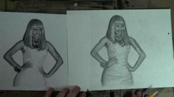 Draw with Merrill: Nicki Minaj - Merrill Kazanjian