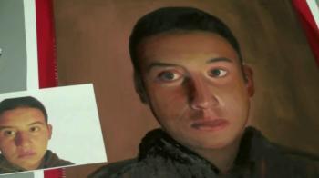 Mixed Media Oil Painting of Contest Winner Serafin Ureno - Merrill Kazanjian
