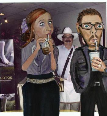 Caffeine Junkie Coffee People - Merrill Kazanjian