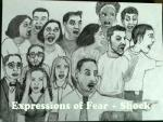 Drawing: Facial Expression- Shock/Fear/Terror