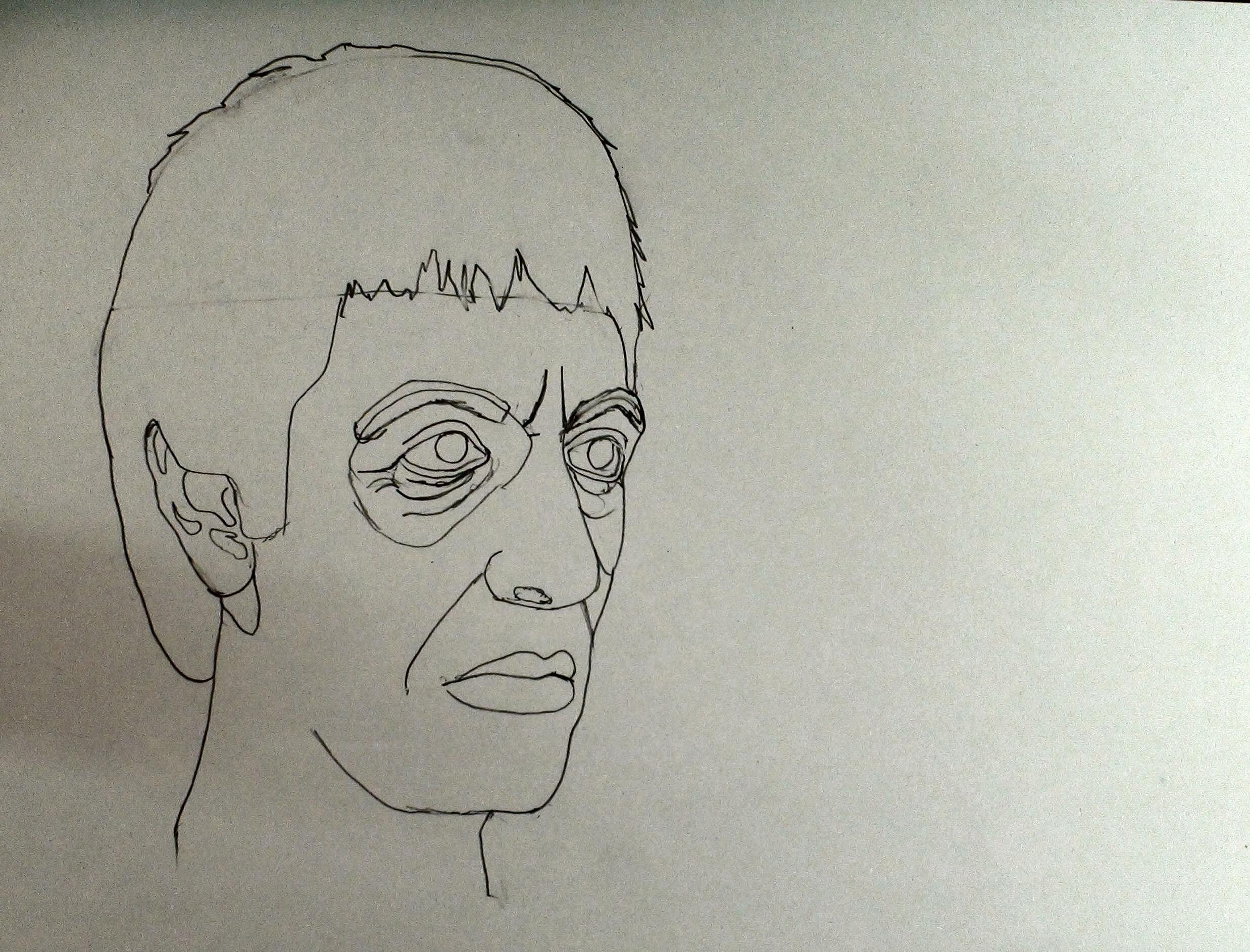 draw scarface step 13