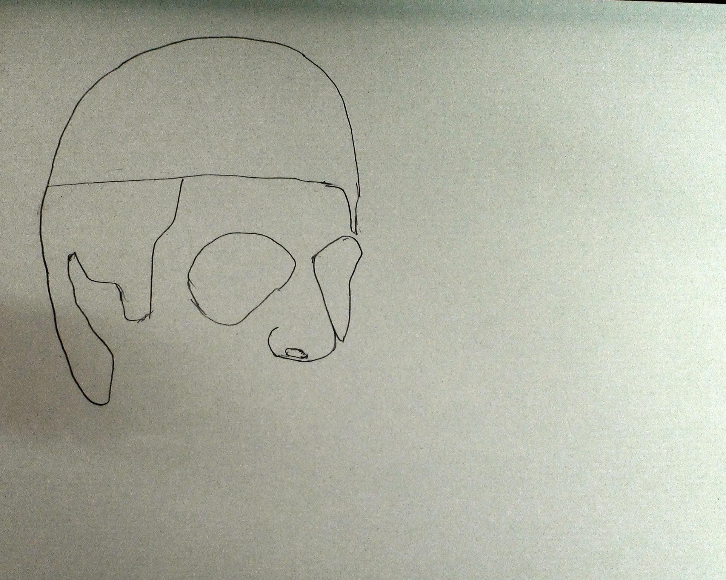 draw scarface step 4