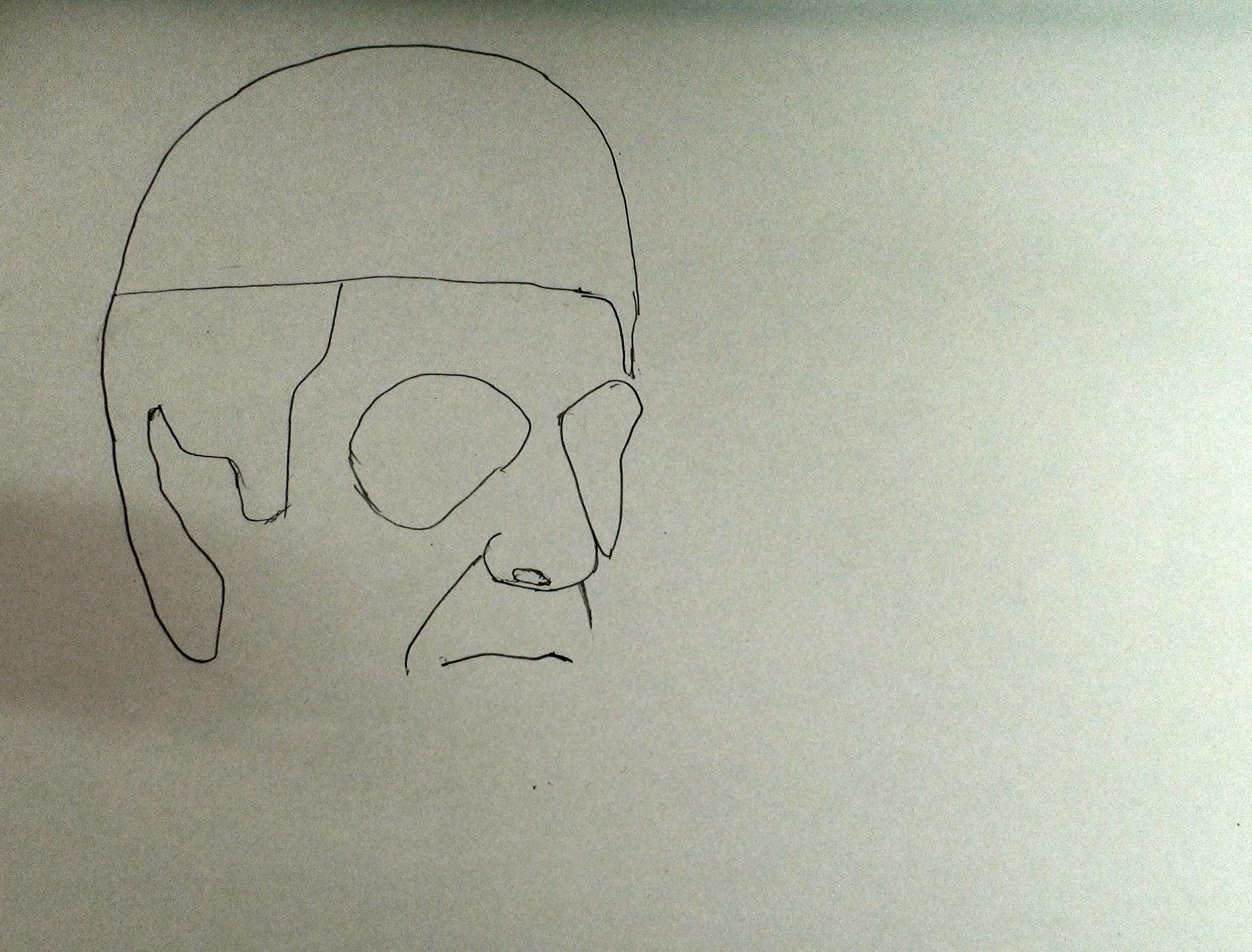 draw scarface step 5