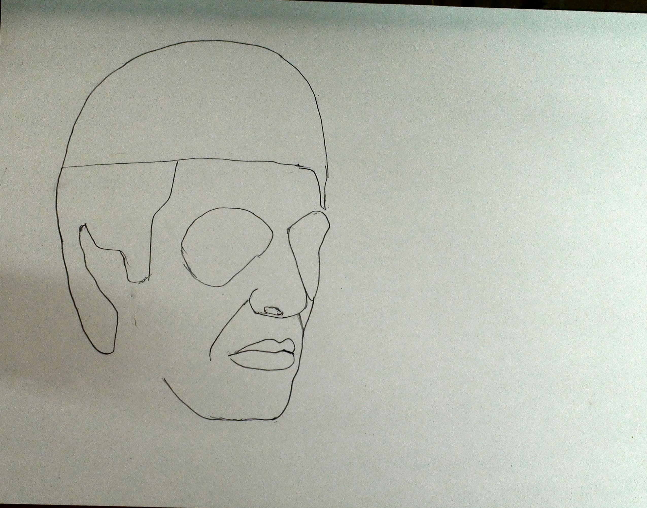 draw scarface step 7