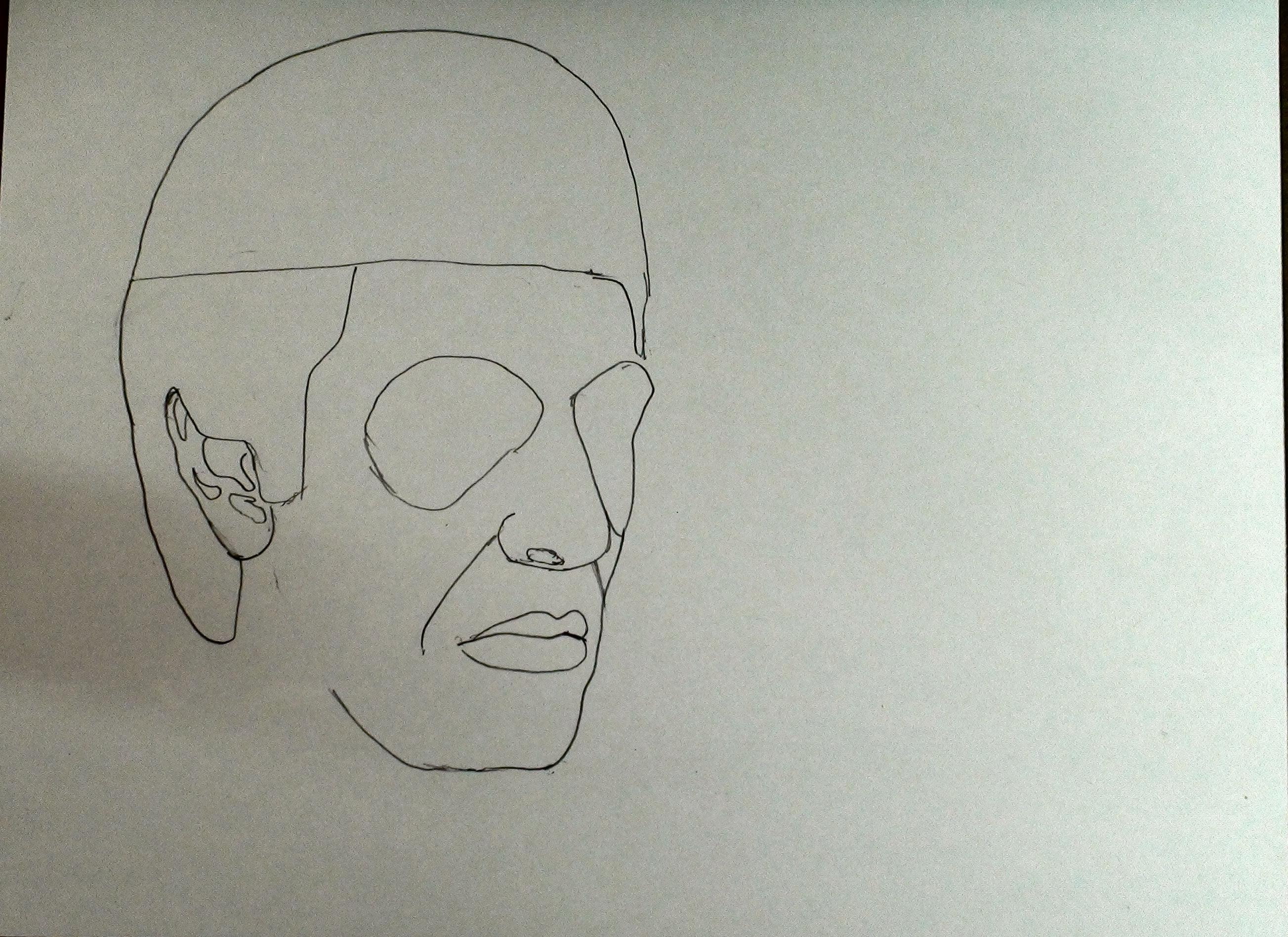 draw scarface step 8
