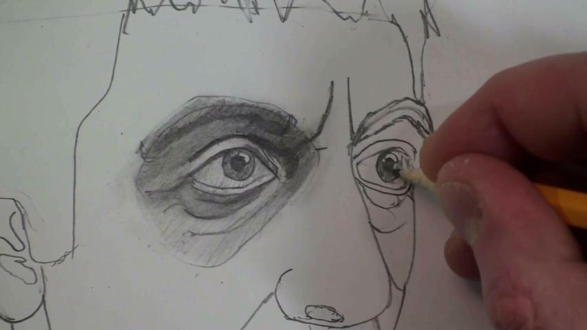 left eye 1