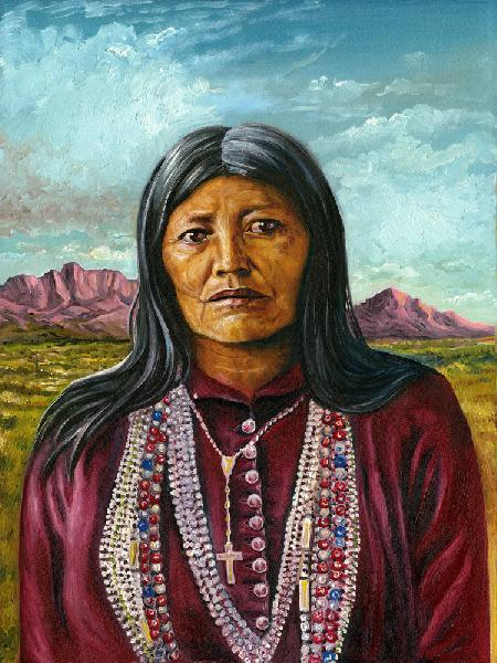 Dadezhti, Chiricahua Apache Woman Warrior. Native American Dahteste was involved in the Geronimo War of 1886 and was held prisoner-of-war with the tribe during the last years of the 19th century and early years of the 20th.