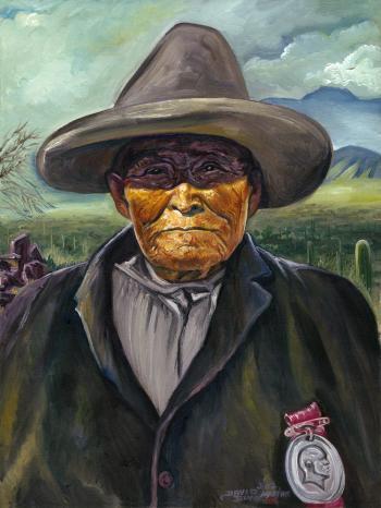 Chato - Chiricahua Apache Scout - David Martine