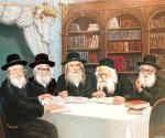 Gur Dynasty #2549 (Carl Braude) - Rabbis
